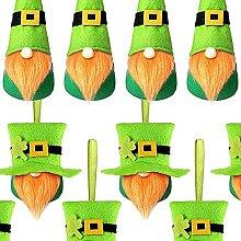 Gmasuber Lot de 12 nains de la Saint-Patrick faits