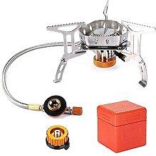 Gmasuber Mini réchaud à gaz pliable avec