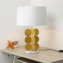 GMLSD Lampes de Table, Cuisson D'Or Moderne