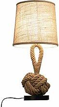 GMLSD Lampes de Table, Lampe de Table Rétro Corde