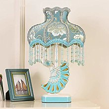 GMLSD Lampes de Table, Paon Princesse Moderne Led