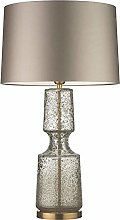 GMLSD Table Lamps,Nordic Luxury Clear Glass