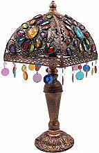 GMLSD Table Lamps,Retro Iron Art Desk Lamp Living