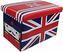 GMMH Tabouret Angleterre Box Boîte de Rangement