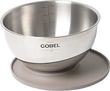 Gobel - Bol cul de poule Gobel inox avec
