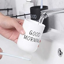 Gobelets de salle de bain en plastique, tasse de