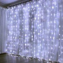GOBRO  Guirlande Lumineuse Rideau 300 LED Rideau