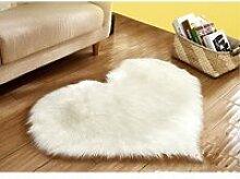 GOGOU® Tapis de salon ou chambre peau de mouton