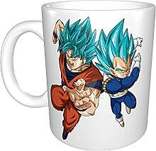 Goku and Vegeta Tasse à café amusante unique