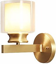 Gold moderne simple lampe murale minimaliste lampe