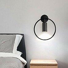 Gold noir Moderne Moderne Moderne LED lampe murale