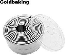 Goldbaking – moule à biscuits en acier