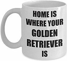 Golden Retriever tasses cadeaux drôles pour les