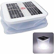 Gonflable Solaire Lanterne, Imperméable LED