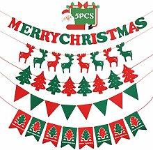 Goomis Banderole Deco Noel Interieur Bannière de