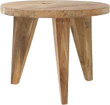 Gortel - Table basse en teck recyclé S