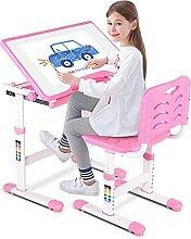 GOTOTOP Set Bureau et Chaise Enfant Hauteur