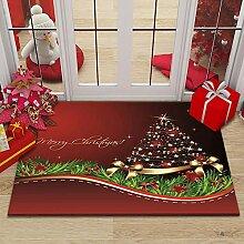 Gpink Tapis De La Série De Noël Maison Salon