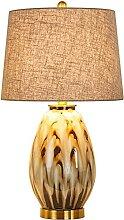 GQQ Lampe de Table En Céramique Camouflage,