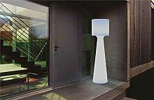 GRACE-Lampadaire d'extérieur H140cm Blanc New