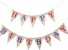 Gracelaza 13 pcs/2m 'Happy Birthday' fanions