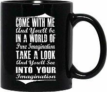 Graines Tee #Pure #Imagination Affiche de cinéma