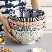 Grand bol à soupe de Style japonais 4.5/8 pouces