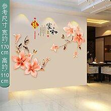 Grand lotus papier peint autocollants