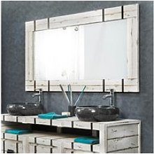 Grand miroir de salle de bain loft 160x80 31060B