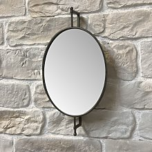 Grand miroir triptyque orientable 40x73