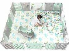 Grand Parc pour bébé en Plastique Pliable