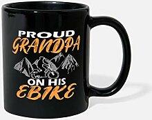 Grand-père papa sur e-bike vélo voyage cadeau