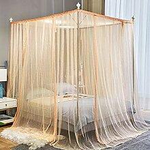 Grand rideau de chambre à coucher de moustiquaire