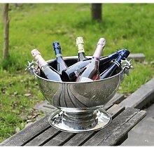 Grand seau à champagne maison réfrigérée tête