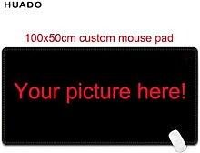 Grand tapis de souris personnalisé, 1000x500mm,