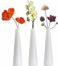 Grand vase conique en plastique composite- petit