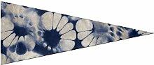 Grande bannière de fanion Shibori abstrait motif