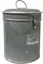 Grande boîte à epices bocal rond cylindrique pot