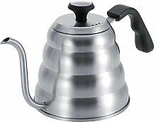 Grande capacité col de cygne bouilloire à café