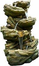 Grande fontaine de jardin cascade d'eau Sedona