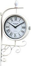 Grande horloge de gare double face horloge