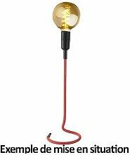 Grande lampe sur pied en câble rouge Stand UP -