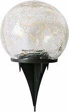 Grande Lanterne, Lampe De Pelouse Solaire Led,