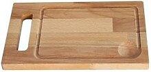 Grande planche à découper en hêtre 39 x 28 cm