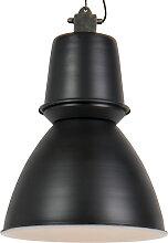 Grande suspension industrielle noire - Giganta