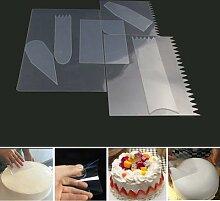 Grattoir à gâteau Transparent, Mousse pour