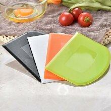 Grattoir à pâte spatule à crème utile,