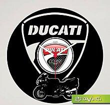 Gravinci.de Horloge disque vinyle Ducati ST4