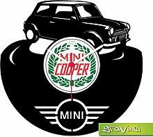 Gravinci.de Horloge disque vinyle Mini Cooper