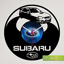 Gravinci.de Horloge disque vinyle Subaru